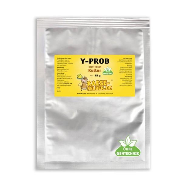 Y-PROB Joghurtkultur - probiotischer Joghurt mildes Aroma