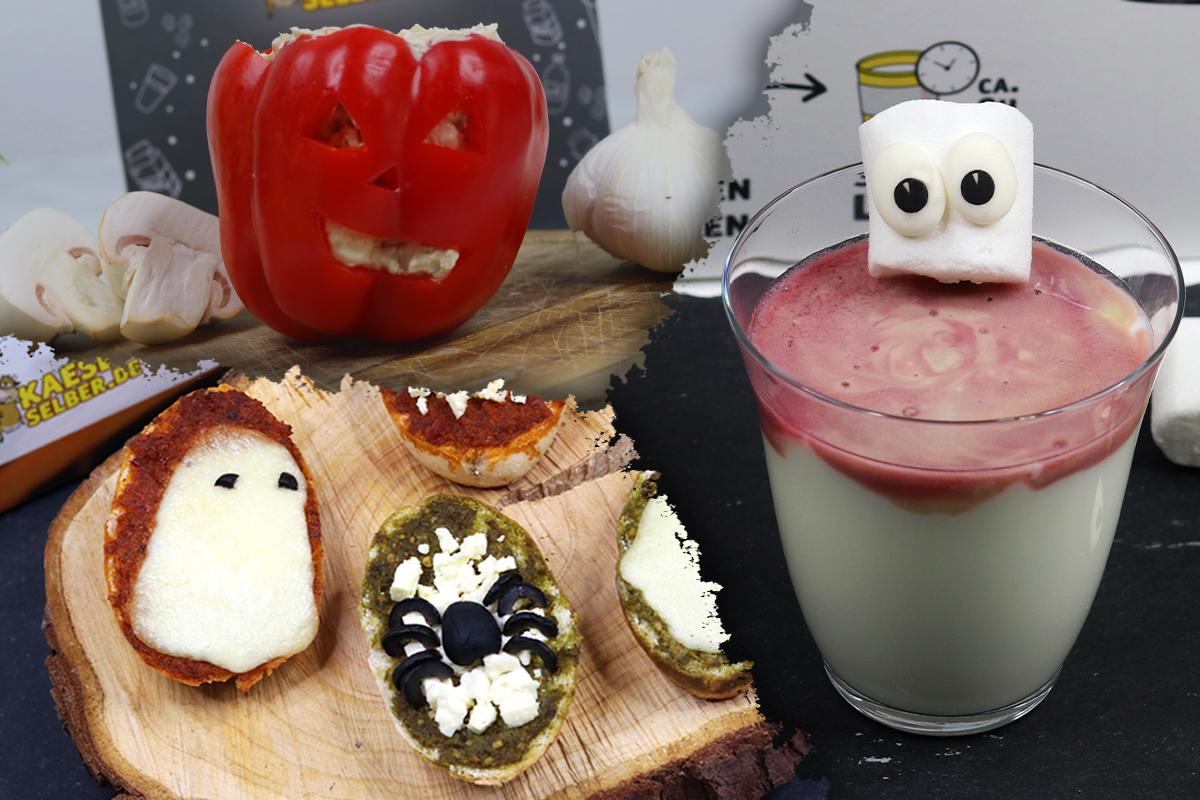 Halloween - UNHEIMLICH gute Snacks!