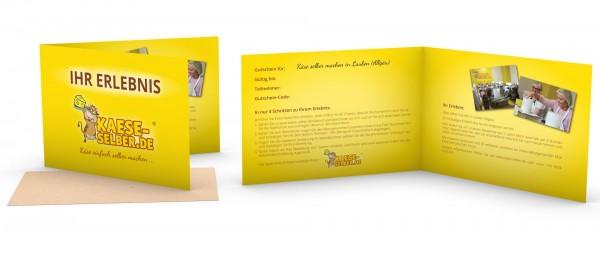Geschenkgutschein für die Käseschule Lauben (Allgäu)