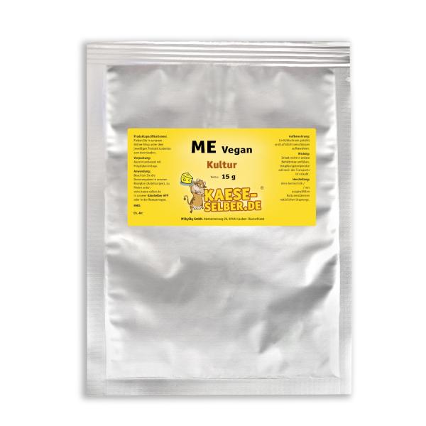 ME Vegan Mesophilekultur - für Veganen Keese, Frischkeese uvm.