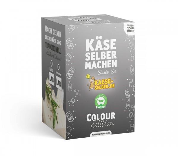 Käse selber machen Starter Set -Colour Edition- GRAU