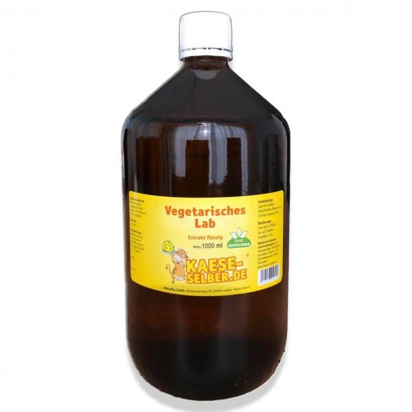 Labextrakt flüssig 1000 ml 1:15000 - Vegetarisches Lab