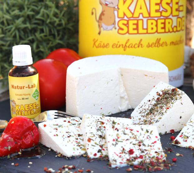 Käse selber machen Starter Set