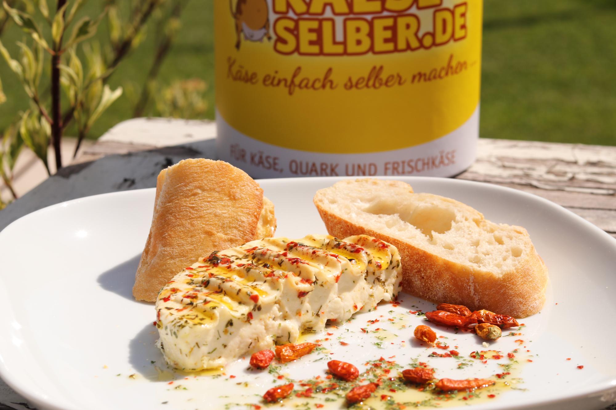 Grill-BBQ-Käse selber machen (für Einsteiger)