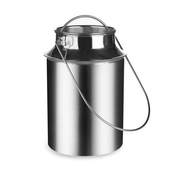 Milchkanne 1,5 Liter (Edelstahl)