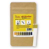 pH Streifen 4,0 - 7,0 (20 Stück)