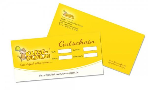 Gutschein KAESE-SELBER.DE Onlineshop