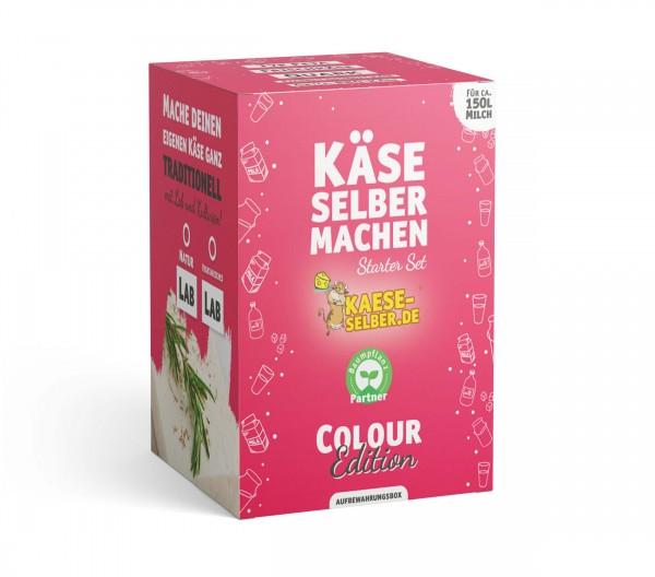 Käse selber machen Starter Set -Colour Edition- ROSA