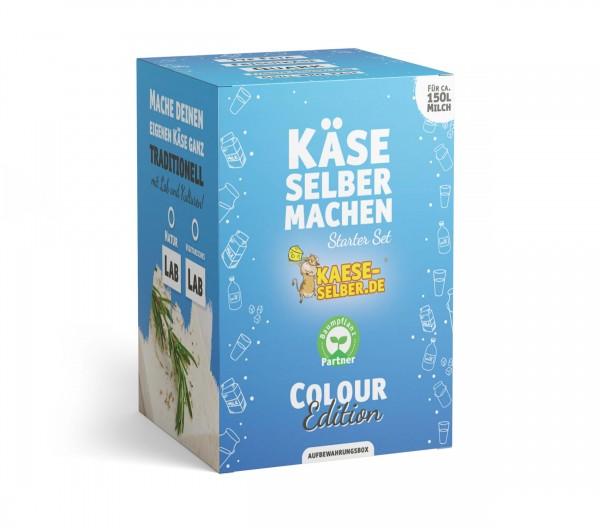 Käse selber machen Starter Set -Colour Edition- BLAU