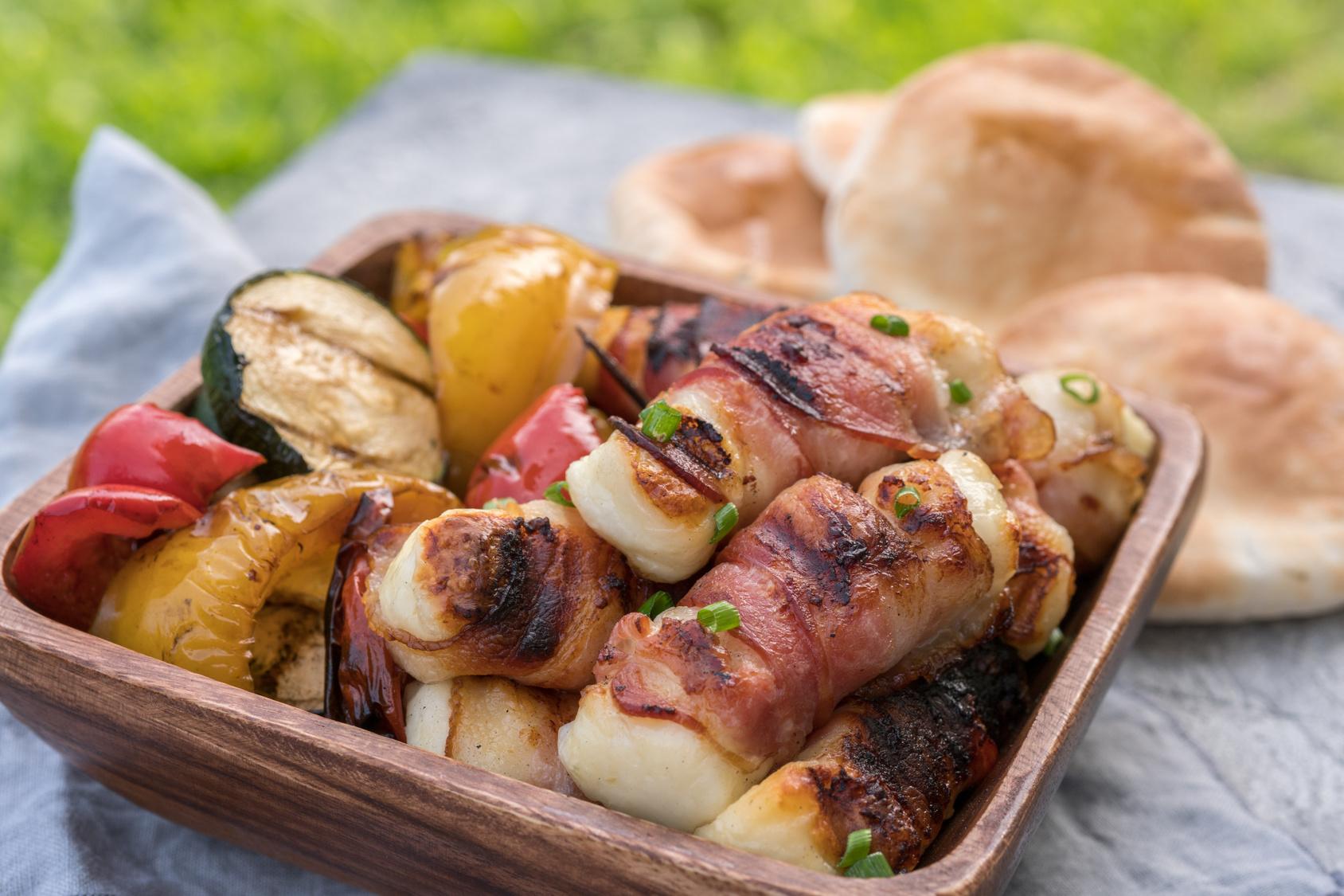 Grillen und Barbecue mit Käse!